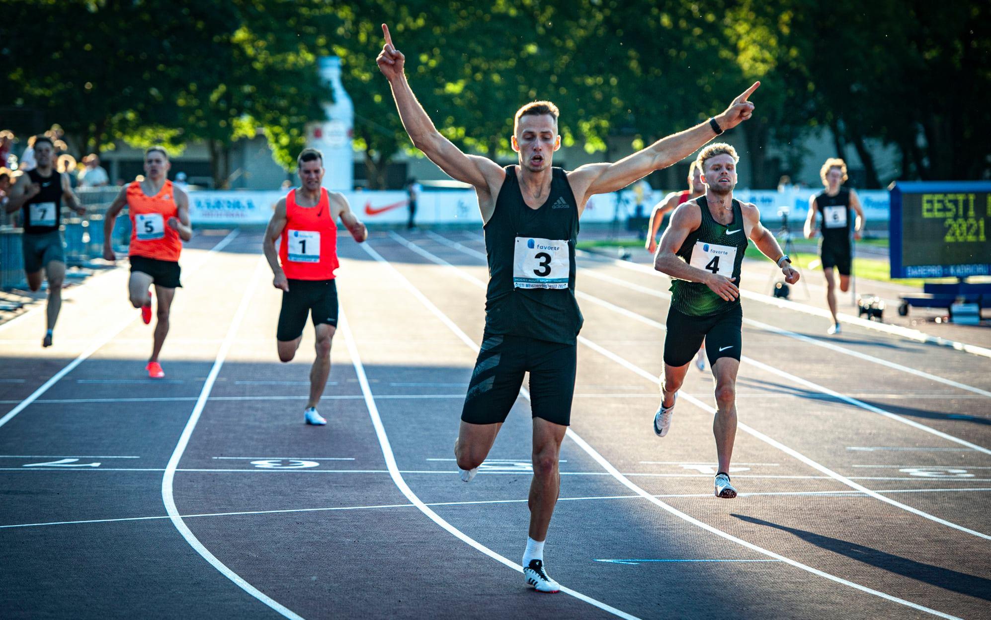 Kristjan Rosenberg uue isikliku rekordiga Eesti meister!