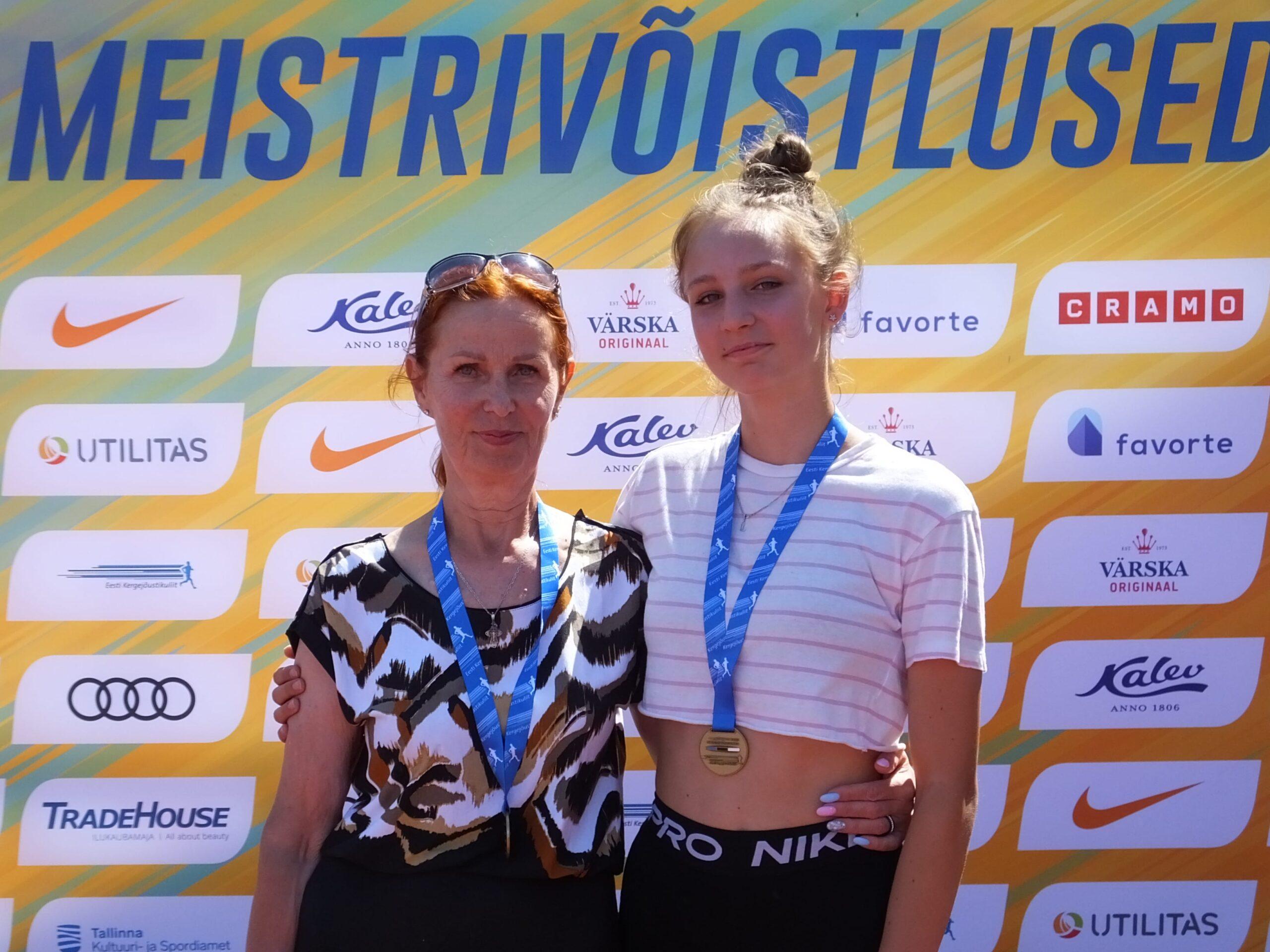 U14 ja U16 Eesti MV tulemused 2021